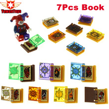 7Pcs/lot Hot Nexus Knights Jestro Magic Books Toys Building Blocks mini Bricks Toys Figures For Children Gifts Lepin