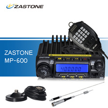 ZASTONE MP-600 Car Walkie Talkie 10KM 65W High Power UHF 400-490MHz Mini Mobile Radio with Antenna and Magnetic Antenna Base(China)