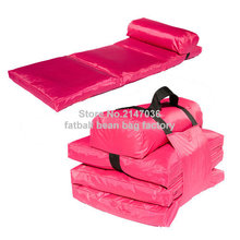 beach chair, folding bean bag sofa seat , outdoor garden patio hammock ,High quality foldable furniture set