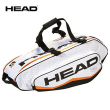 5c14a41a99d Limited-edition Head Bag With Djokovic Signature Professional Male Sports  Backpack For 6 Tennis Rackets Independent Shoes Bag