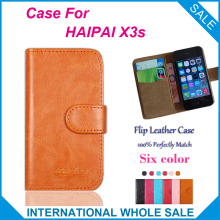 HAIPAI X3s Case New 2016 items Factory Price Flip Leather Case Exclusive Cover For HAIPAI X3s Case+tracking number(China)