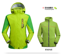 2015 New Brand Children Sport wear Outdoor Breathable Windproof Hiking 2 Layer Spring Winter Fall Ski Jacket kids Waterproof(China)