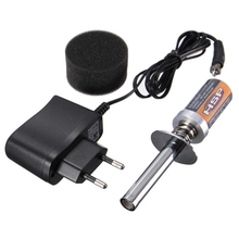 HSP RC Nitro 1.2 V 1800MAH RECHARGEABLE GLOW PLUG starter Igniter AC Charger for Gas Nitro Engine Power 1/10 1/8 RC Car(China)