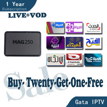 MAG250 IPTV linux box with usb wifi MAG 250 1year european Arabic IPTV account arabic Frech IPTV better than QHDTV NEOTV LEADTV