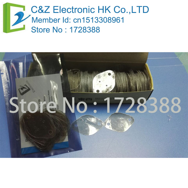 TO3 MICA 29mmx42mmx0.12mm Mica Insulator Sheet for TO-3 Transistor  FREE SHIPPING(China)