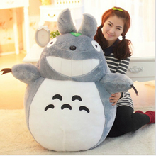 "Hot  23"" 60cm Selling Item Totoro Cartoon Movies Plush Toys Smiling High Quality Brinquedos Dolls Factory Price Free Shipping"