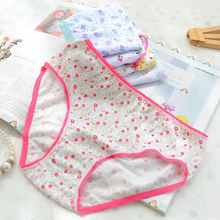 Fashion 6pcs Cute Panties Infant Baby Girls Underwear Toddler Girls Cotton Blend Panties Kids Girl Short Briefs Children Bottom(China)
