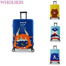 Travel Trolley Travel Bags Cases Copper Case Dust Set of High Quality Luggage Elastic (18 To 30 Inches)