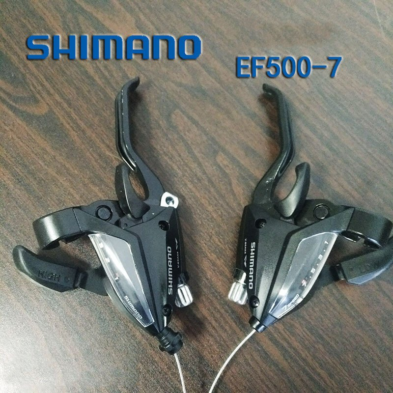 Shift Lever 3x7 Speeds Bicycle EF500-7 Brake Shifters Set Brake Lever