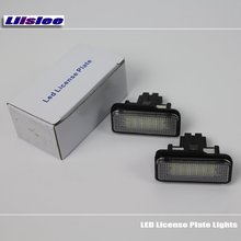For Mercedes Benz CLS Class W219 2004~2011 / LED Car License Plate Light / Number Frame Lamp / High Quality LED Lights