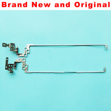 New original one Pair (Left & right) LCD hinges For Lenovo Ideapad 100-15 100-15IBY Laptop Hinge AM1ER000200 AM1ER000100