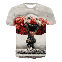 Newest Style Men Tshirt Both Side Print Fashion Men's 3D T shirts Hot Models Casual T-shirts