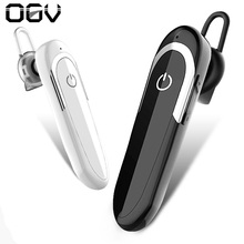 Wireless Headset Stereo Bluetooth Earphone Monaural Headphone with Microphone Connecting Two Devices YES/NO Voice Answer Phone(China)