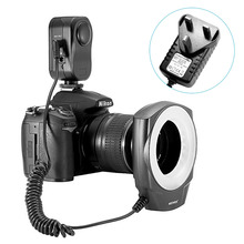 Neewer Macro Ring LED Light For Canon/Sony/Pentax/Nikon/Sigma/Olympus Lens with 6 Adapter As Godox Ring 48(China)