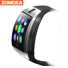 Smart Watch Q18 Plus Clock Sync Notifier Support Sim SD Card Bluetooth Connectivity Android Phone Smartwatch Sport pedometer(China)