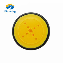 Official iSmaring Small Smart Car Tire/Tyre Chassis Plastic Robot Chassis Wheel Rubber diy rc toy electronic kit robotic model