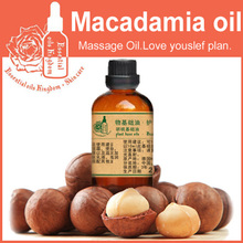 100% pure plant base oils Germany henry macadamia oil 100ml Massage Oil walnut oil DIY soap raw materials Delay aging