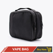 Volcanee Electronic Cigarette Double deck Vapor Tool Kit Bag for RTA RBA RDA Mods DIY Tools Carry Bag Case Vape Pocket