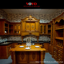 European kitchen furniture equiped luxury Roman column