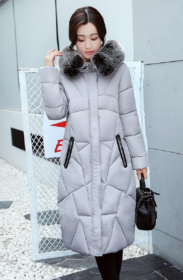 2017 Winter Women Coat Thicken Warm Long Jacket women coat girls long slim big coat jacket Down Parka+12 (1)