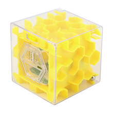 MUQGEW 3D Maze Magic Cube Puzzle Speed Cube Puzzle Game Labyrinth Ball Toys Cubos Magicos Maze Ball Games Educational Toys(China)