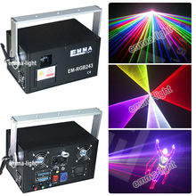 amazing products from china diode laser 2w rgb color dj laser light 2 watt rgb laser projector(China)