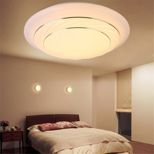 Modern 24W Round LED Ceiling Lights Fixture  White/Natural White/Warm White Lamparas De Techo Surface Mounting Ceiling Lamp(China)