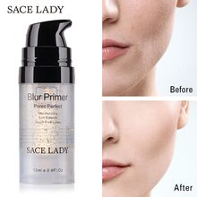 SACE LADY Primer Makeup Oil Control Matte Make Up Face Base Cream 24K Gold Professional Pores Foundation Primer Cosmetic(China)