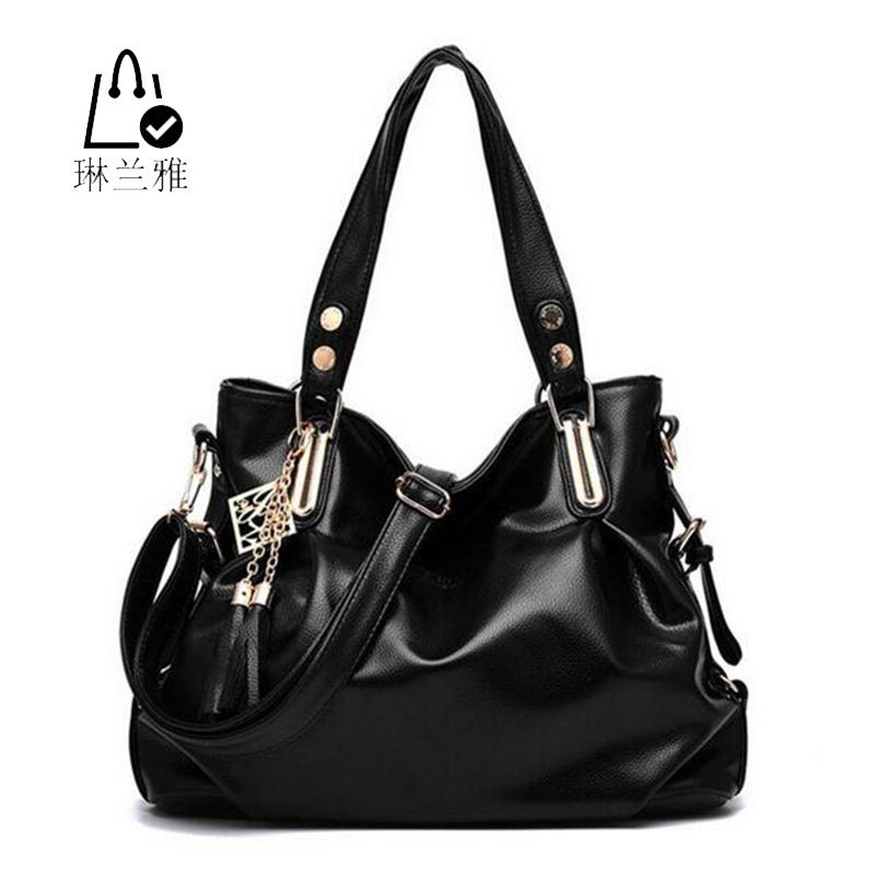 Fashion women shoulder bag High quality lady classic leisure bags tassel Hobos handbags  madam pu Leather Crossbody Bags Z-36<br><br>Aliexpress