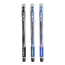 Erasable Gel Pen 0.5 mm Eraser Caps Black Navy Blue G-1092 Gel ink pen 3 pieces(China)