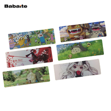 Babaite Mouse pad Anime Hot sale Extended Super large keyboard mouse mat For logitech & Steelseries Mouse Speed/Control Version