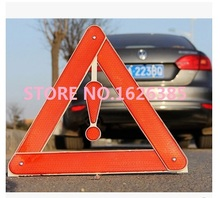 Foldable Reflective Triangle Warning Sign traffic Car Hazard Road Emergency Breakdown Board indicator light(China)