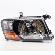 Headlight Right for MITSUBISHI PAJERO / MONTERO 1999 2000 2001 2002 2003 Passeger Side Black