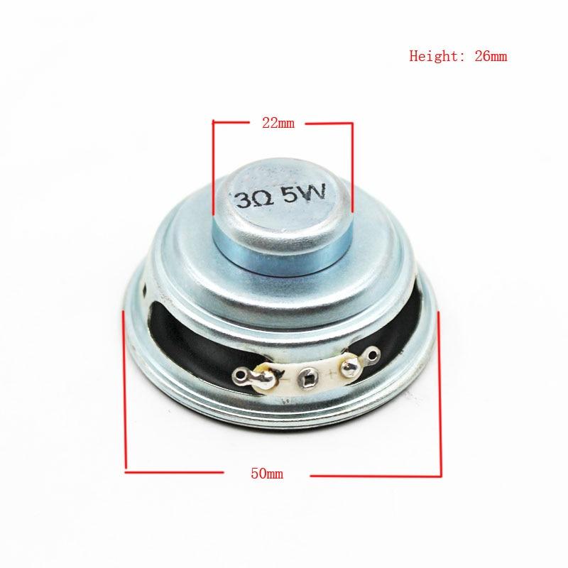 4 pz 0.5w 8 Ohm 26mm interno magnete elettronico giocattolo altoparlante amplificatore