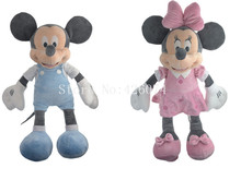 New Mickey Minnie Plush For Girls Boys 50CM Kids Stuffed Toys Children Christmas Gifts(China)