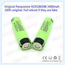 100% Original NCR18650B 18650 3400mah 3.7V rechargeable Li-ion Battery Best For Flashlight batteries(1 pc)(China)