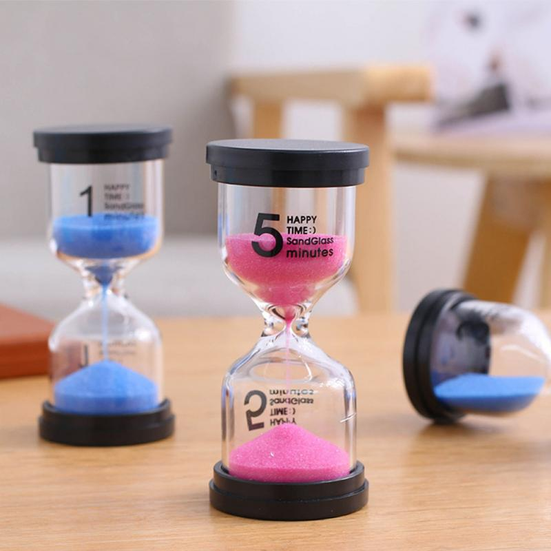 dsmile sand timer 1 minute plastic hourglass timer set of 10