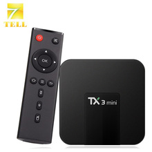 TX3 MINI 2G 16G Optional Android 7.1 TV BOX Amlogic S905W Quad Core VP9 HDR 4K H.265 Media Player(China)