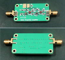 1MHz to 2000MHz 64dB Gain NF: 1.8 RF low-noise broadband amplifier Module FM HF VHF / UHF Ham Radio dc 6-12v