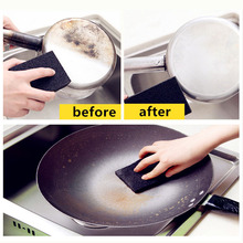 1pc Carborundum Magic Sponge Nano Emery Magic Cleaner Rub The Pot Except Rust Focal Stains Sponge Kitchen Home Cleaning Tool
