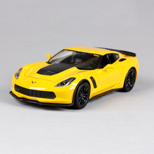 Corvette Z51 Z06 1:24 Model Toy Vehicle Car model Metal Toys gift modified car simulation model For Collection