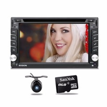 Car Multimedia Player cassette player for auto radio 2 din car dvd GPS navigation Steering Wheel Control