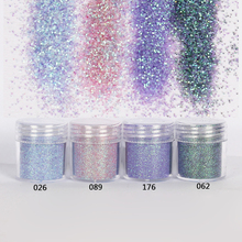 Nail 1 Jar/Box 10ml Nail Colorful Pink Purple Nail Art Glitter Fine Powder for Gel Nail Decoration 300 Colors Factory 4-58