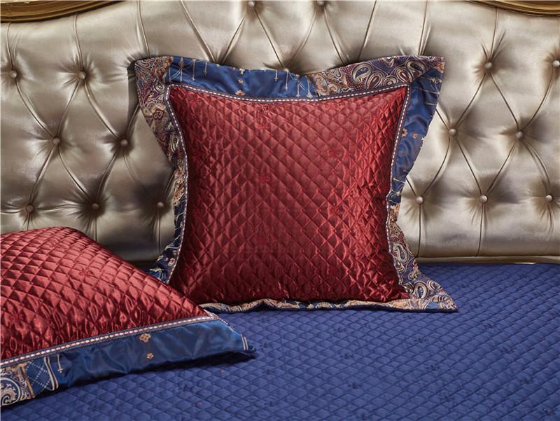 Luxury Bedding Set, Silk Satin Jacquard Bedding Set, Queen, King, Duvet Cover,Bed Linen Flat Sheet Set 31