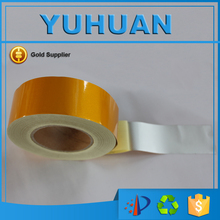 Free Shipping 5CM x 45.7M Good Quality Waterproof Advertising Grade Reflective Tape Warning Tape for vehicles(China)