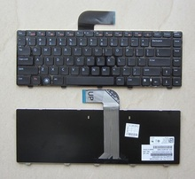 SSEA NEW US Keyboard For Dell Vostro 3550 XPS L502 Inspiron 14R N4110 M4110 N4050 M4040 N5050 Laptop black Keyboard(China)