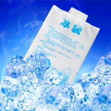 5pieces/lot   400ML  Ice Bag PE Material Food and Medicine Seafood Cold Storage Picnic Cooler Bags Ice Pack