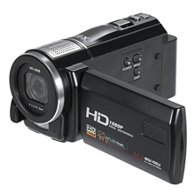 HDV-F500 1080P 24MP Video 16X Digital Zoom Camera Camcorder Wireless Remote 3.0 inch TFT Touch Screen Recorder With Flash Light