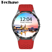 New Design KW88 Smartwatch Andriod 5.1 3G Mobile Watch Phone Heart Rate Monitor Smart Watch android HD Screen Wearable Devices