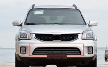 Front Radiator Chrome Line Grille Grill For 2013 KIA Sportage(China)